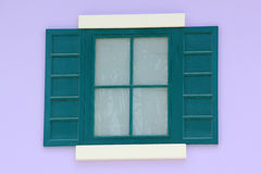 Oud Italiaans vensterhuis Stock Fotografie
