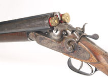 Oud jachtgeweer Royalty-vrije Stock Afbeeldingen