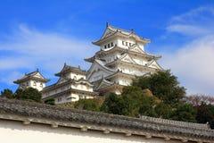 Oud Japans Kasteel van Himeji Stock Fotografie