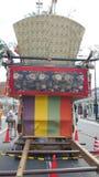 Oud Japans samoeraienheiligdom royalty-vrije stock foto's
