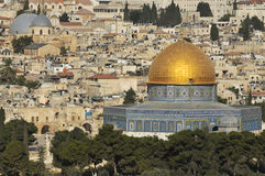 Oud Jeruzalem Stock Afbeeldingen