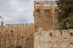 Oud Jeruzalem royalty-vrije stock afbeelding