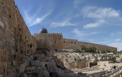 Oud Jeruzalem Stock Foto