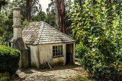 Het plattelandshuisje van de pionier royalty-vrije stock foto's