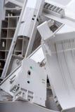Oud kantoorbenodigdheden recycling Stock Afbeelding