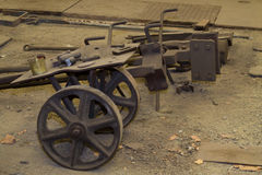 oud karretje Stock Foto's
