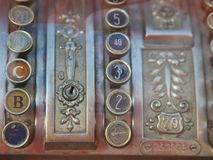 Oud Kasregister Stock Fotografie