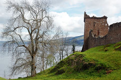 Oud kasteel Royalty-vrije Stock Foto