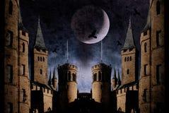 Oud kasteel royalty-vrije illustratie