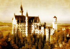Oud kasteel Royalty-vrije Stock Afbeelding