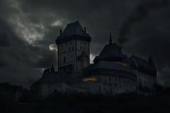 Oud kasteel. Royalty-vrije Stock Afbeeldingen