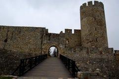 Oud kasteel in de stad van Belgrado in Servië Royalty-vrije Stock Fotografie