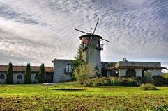 Oud kasteel in het platteland Royalty-vrije Stock Fotografie