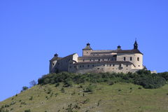 Oud kasteel Krasna Horka royalty-vrije stock afbeelding