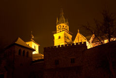 Oud Kasteel in Kremnica Royalty-vrije Stock Fotografie