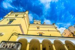 Oud kasteel in Noordelijk Kroatië Stock Foto's