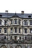 Oud kasteel Podgoretskykasteel Elementen van de architectuur van het oude kasteel Royalty-vrije Stock Foto