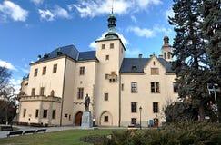 Oud kasteel, stad van Kutna Hora, Tsjechische Republiek, Europa Stock Foto's