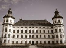 Oud kasteel in Stockholm stock afbeelding