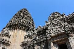 Oud Kasteel, Thailand Stock Afbeeldingen