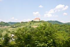 Oud Kasteel in Velki Tabor, Kroatië Royalty-vrije Stock Foto's