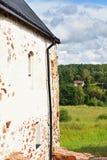 Oud Kastelholm-ingebouwd Kasteel (14de eeuw), Aland-eilanden royalty-vrije stock foto's