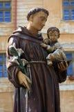 Oud katholiek standbeeld royalty-vrije stock foto's