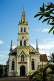 0030-oud kerk in Vinh-stad - Nghe een provincie - Centraal Vietnam - Zuidoost-Azië Royalty-vrije Stock Afbeelding