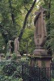 Oud kerkhof royalty-vrije stock foto