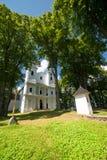 Oud kerklandschap Royalty-vrije Stock Foto's