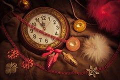Oud Kerstmisspeelgoed Royalty-vrije Stock Foto