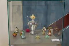 Oud Kerstmisspeelgoed Stock Foto's