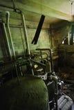 Oud ketelruim Stock Foto