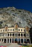 Oud klooster in berg montenegro Stock Foto's
