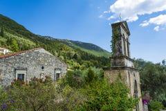 Oud klooster in Lefkada royalty-vrije stock foto's