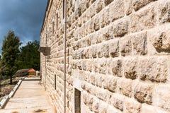 Oud Klooster in Noord-Libanon stock afbeeldingen