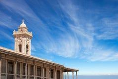 Oud Klooster in Noordelijk Cyprus royalty-vrije stock foto's
