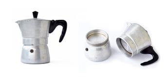Oud koffiezetapparaat Stock Afbeeldingen
