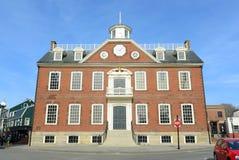 Oud Koloniehuis, Nieuwpoort, Rhode Island Stock Foto