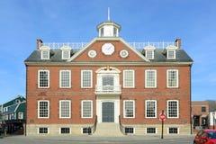 Oud Koloniehuis, Nieuwpoort, Rhode Island Stock Afbeeldingen
