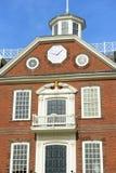 Oud Koloniehuis, Nieuwpoort, Rhode Island Stock Afbeelding
