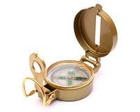 Oud kompas Royalty-vrije Stock Foto's