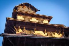 Oud Koninklijk paleis, Katmandu, Nepal Royalty-vrije Stock Foto's