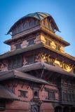 Oud Koninklijk paleis, Katmandu, Nepal Royalty-vrije Stock Afbeeldingen