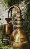 Oud Koper nog royalty-vrije stock fotografie