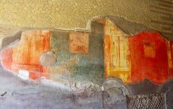 Oud kunst-Herculaneum-I-Italië Stock Foto's