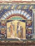 Oud kunst-Herculaneum-ix-Italië Royalty-vrije Stock Afbeelding