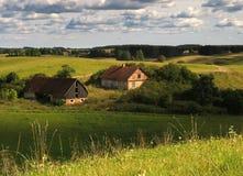Oud landbouwbedrijf Stock Foto's