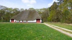 Oud landbouwbedrijf in België stock fotografie