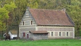 Oud landbouwbedrijf in België royalty-vrije stock afbeeldingen